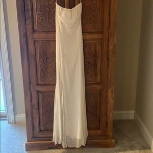 Vintage Sean Collection Silk Pearl & Sequins Gown